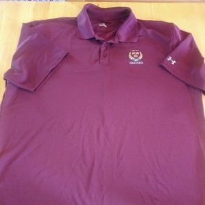 XL Under Armour Harvard Polo Shirt